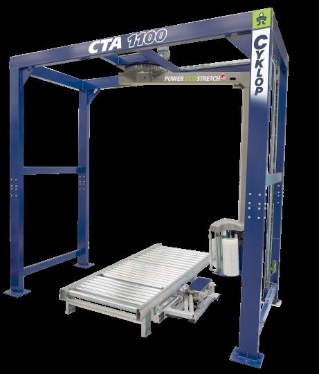 Helautomatisk sträckfilmsmaskin CTA1100